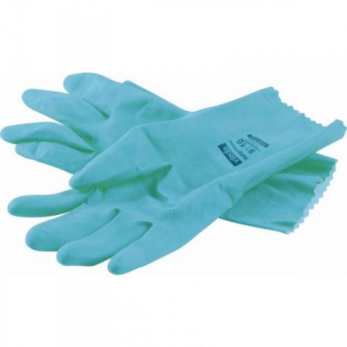 Перчатки латексные повышенной прочности Vileda размером L