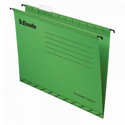 Подвесная папка Esselte Pendaflex Plus Foolscap, зеленая 25 штук в упаковке