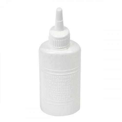 """Клей канцелярский/силикатный, 90г,  """"Экспоприбор"""" в пластиковой бутылочке с дозатором и съемным колпачком евро"""