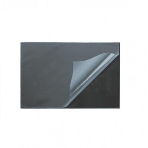 Коврик на стол deVENTE 49x65 см, картон толщина 1,5 мм, покрытие черное ПВХ 300 мкм, с откидным прозрачным клапаном