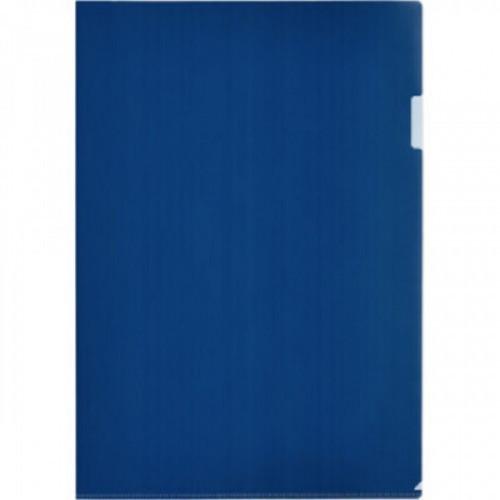 Папка уголок Attache формат А3 180мкм синий в уп.20шт