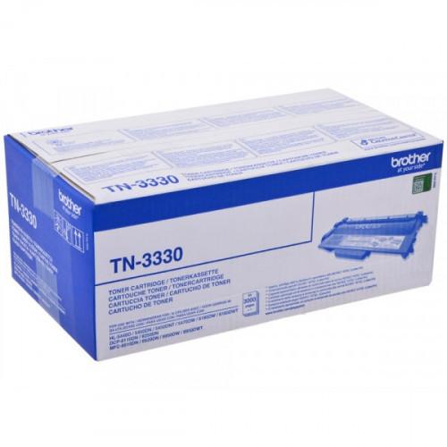 Картридж лазерный Brother TN-3330 черный оригинальный