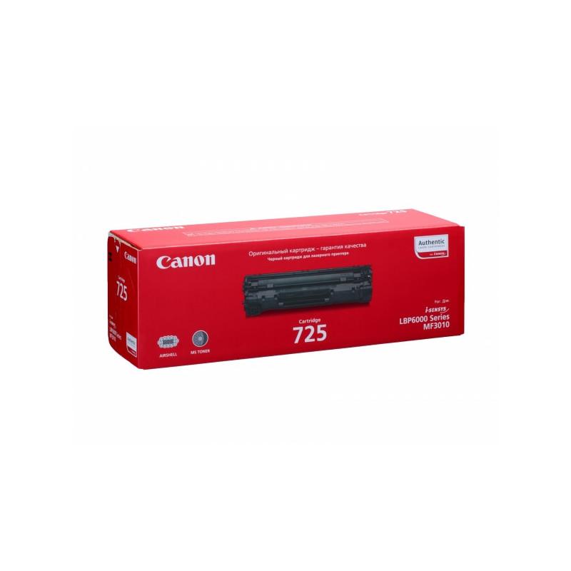 Тонер-картридж лазерный Canon Cartridge 725 3484B002 черный оригинальный
