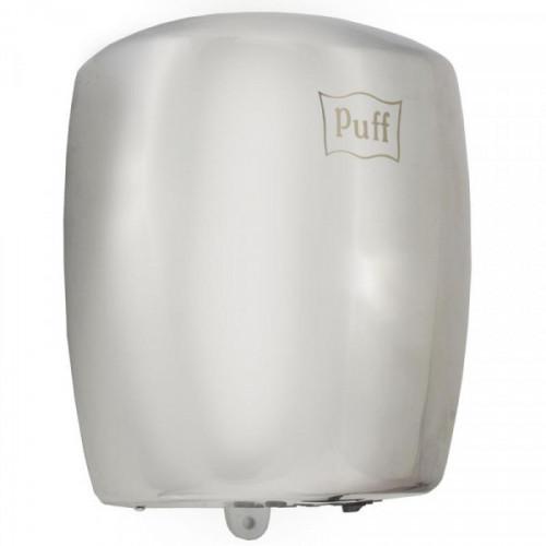 Сушилка для рук электрическая PUFF 8887, 1200 Вт, время сушки 15 секунд, нержавеющая сталь, серебристая