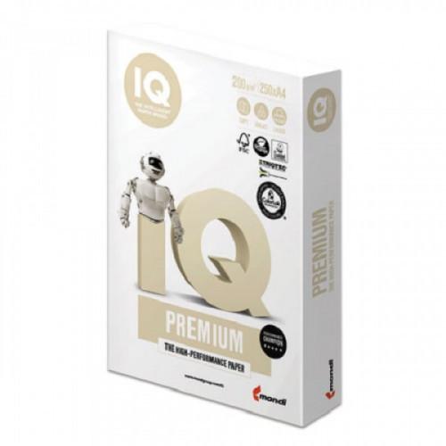 """Бумага IQ PREMIUM, А4, 200 г/м2, 250 л., класс """"А"""", Австрия, белизна 170% (CIE)"""