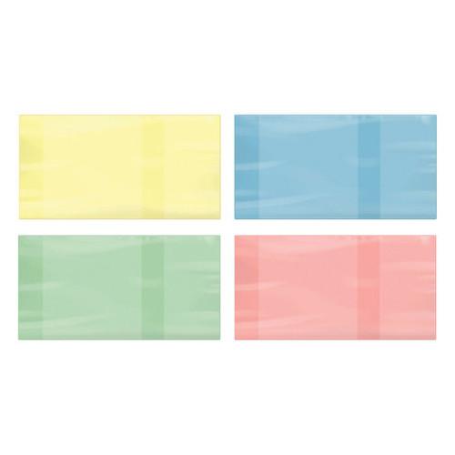 Обложка ПВХ для учебника ПИФАГОР, размер универсальный, цветная, плотная, 100 мкм, 233х450 мм