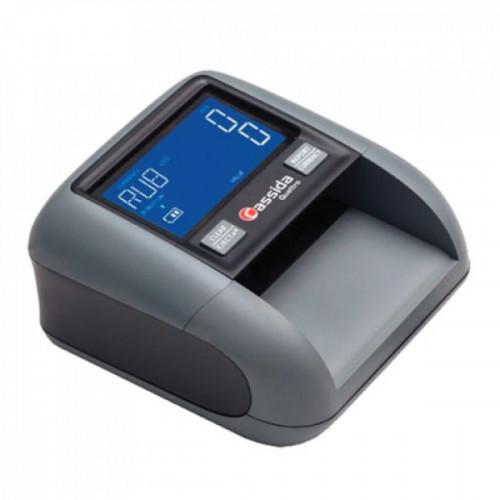 Детектор банкнот CASSIDA Quattro S, автоматический, RUB, ИК-, УФ-, магнитная детекция, АКБ, 3236