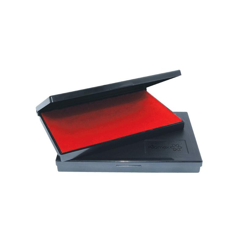 """Штемпельная подушка """"Attomex"""" 110x70 мм, на водной основе, фиолетовая"""