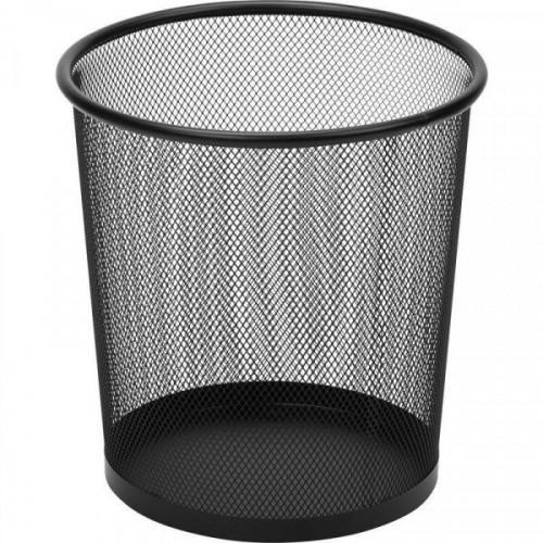 Корзина для бумаг Attache 6,7 литров, черная