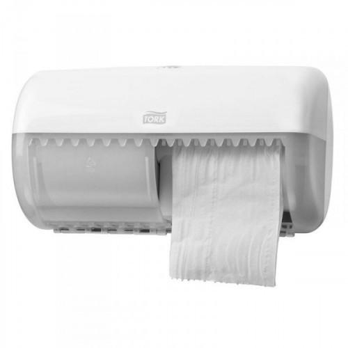 Держатель для туалетной бумаги в рулонах Tork Elevation Т4 557000 пластиковый белый