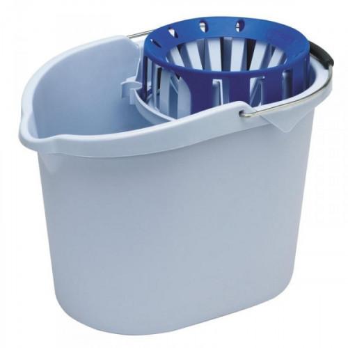 Ведро пластиковое 10 литров Vileda Супер-Моп с отжимом