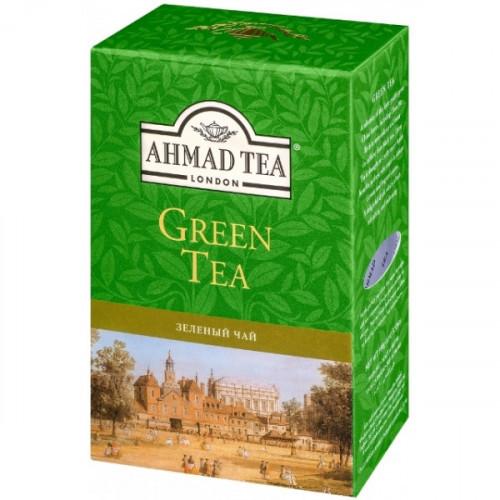 Чай Ahmad Green Tea зеленый листовой 200 грамм