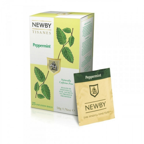 Чай Newby перечная мята 25 пакетиков