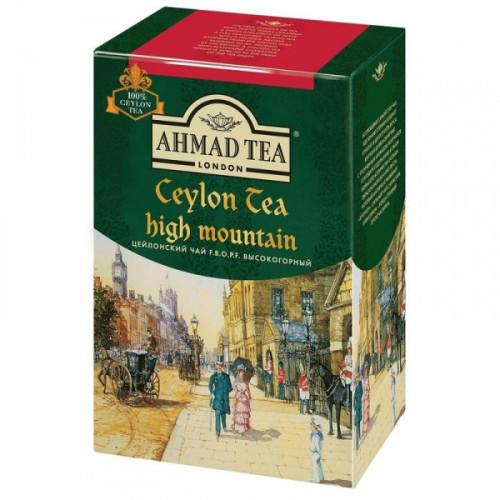 Чай Ahmad Tea Ceylon High Mountain черный листовой 90 грамм