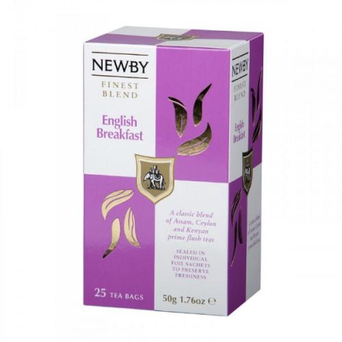 Чай Newby English Breakfast черный 25 пакетиков