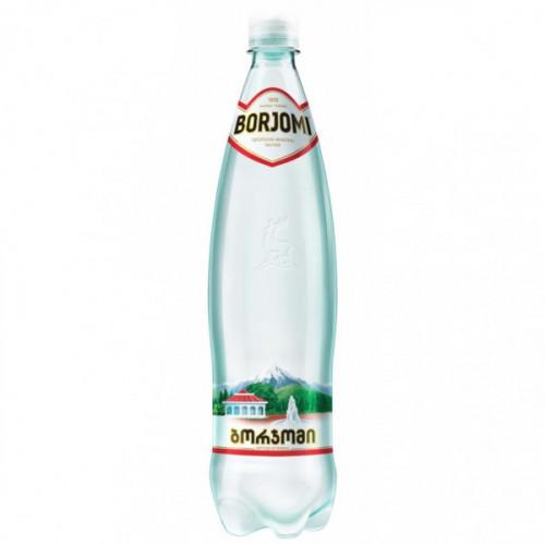 Вода минеральная Боржоми газированная 0.5 литра 12 штук в упаковке
