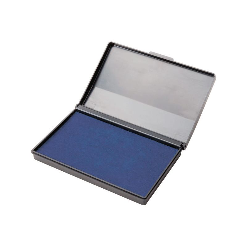 """Штемпельная подушка """"Attomex"""" 110x70 мм, на водной основе, синяя"""