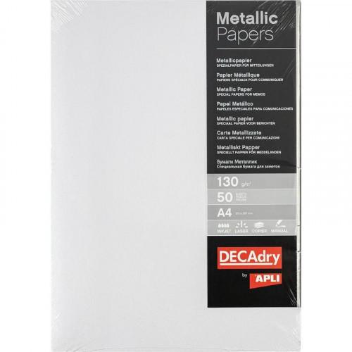 Дизайн-бумага Decadry Жемчуг (A4, 130 г/м2, 50 листов)
