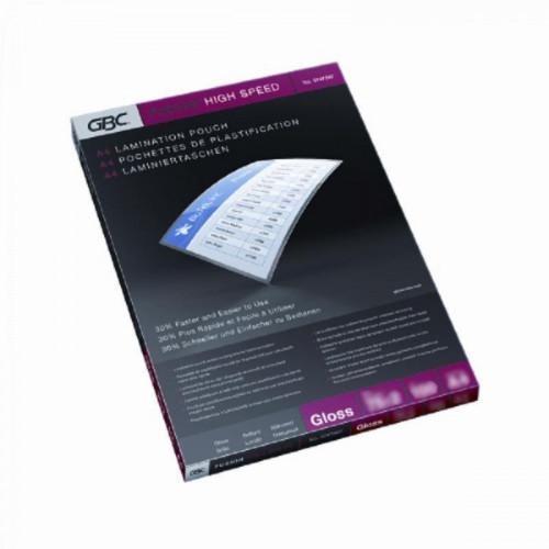 Заготовка для ламинирования A4 2x75 мкм ускоряющая ламинирование глянцевая 100 штук/упаковка