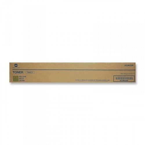 Тонер-картридж лазерный Konica Minolta TN-321Y желтый оригинальный