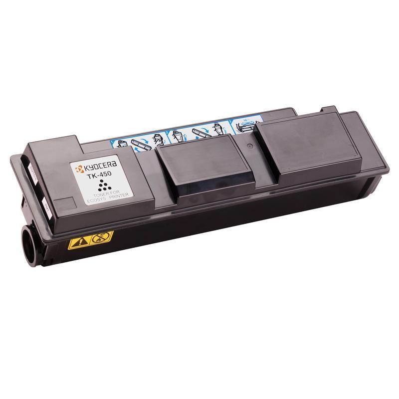 Тонер-картридж лазерный Kyocera TK-450 черный оригинальный