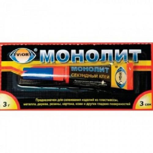 Клей МОНОЛИТ Супер универсальный 3 г (403-001)