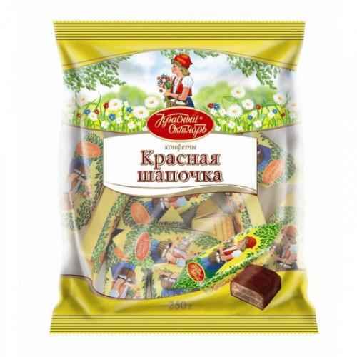 Конфеты шоколадные Красная шапочка 250 грамм