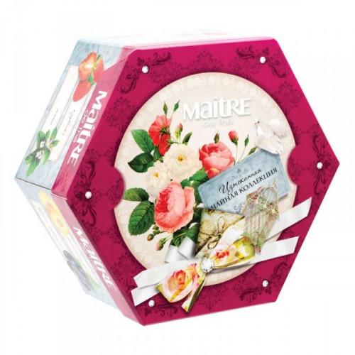Чай Maitre de The ассорти 60 пакетиков
