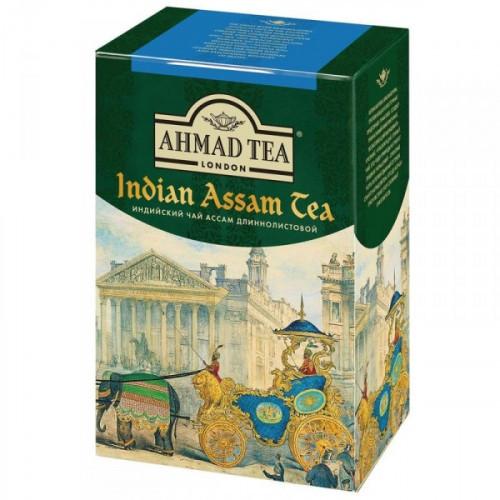 Чай Ahmad Tea Indian Assam tea черный листовой 90 грамм