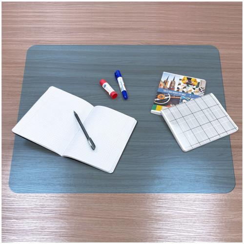 Настольное покрытие OfficeSpace 55*65см, прозрачное матовое, синий