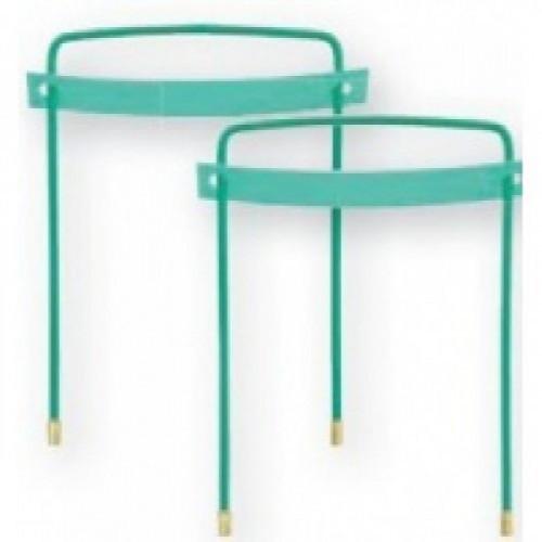 Механизм для скоросшивателя разъемный OfficeSpace металл/пластик,10 шт.,зеленый