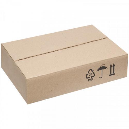 Короб картонный, 330*225*80мм, марка Т22, профиль С, FEFCO 0201 / ГОСТ исполнение А