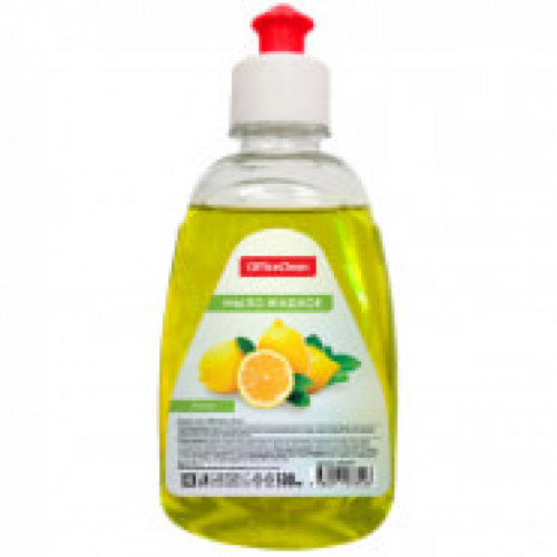 Мыло жидкое OfficeClean 300мл пуш-пул лимон
