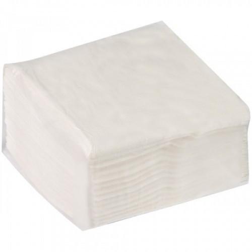 Салфетки бумажные диспенсерные OfficeClean, 1 слойн., 17*15,8см, белые, 100шт.