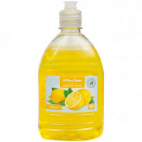 Мыло жидкое OfficeClean 500мл пуш-пул лимон