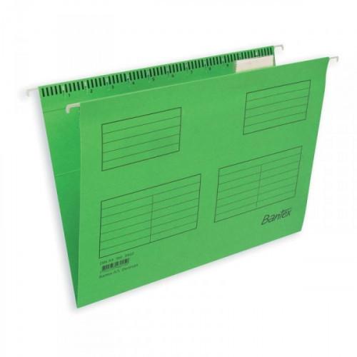 Подвесная папка Bantex А4 до 250 листов салатовая 25 штук в упаковке