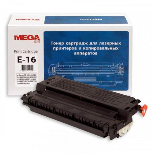 Картридж лазерный Pro Mega Е-16 черный совместимый