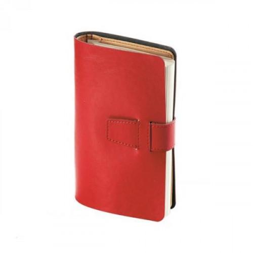 Ежедневник недатированный Bruno Visconti Sienna искусственная кожа А5 192 листа красный (110x183 мм)