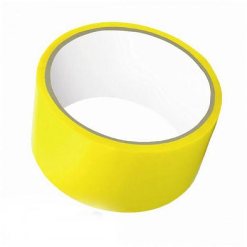 Клейкая лента упаковочная 48 мм х 30 м 45 мкм желтый