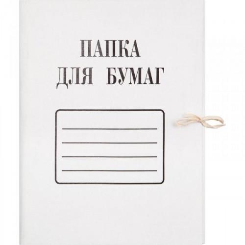 Папка с завязками мелованный картон 280 г/кв.м
