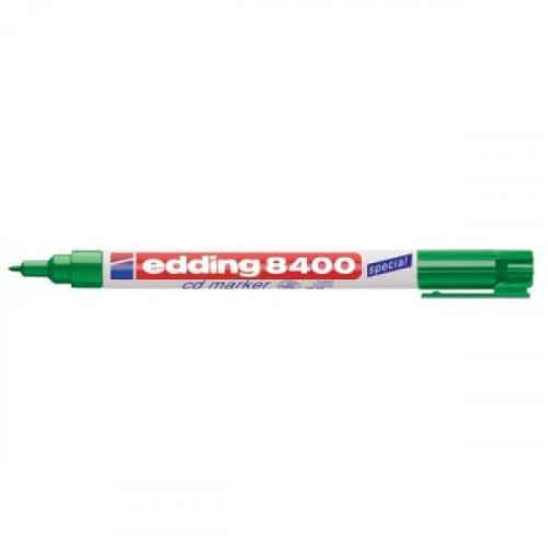 Маркер для CD Edding E-8400/4 зеленый 0.75 мм