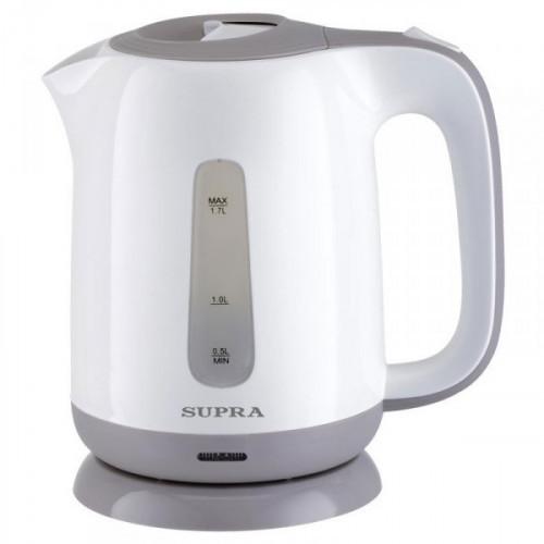 Чайник Supra KES-1724 белый/бежевый 1.7л