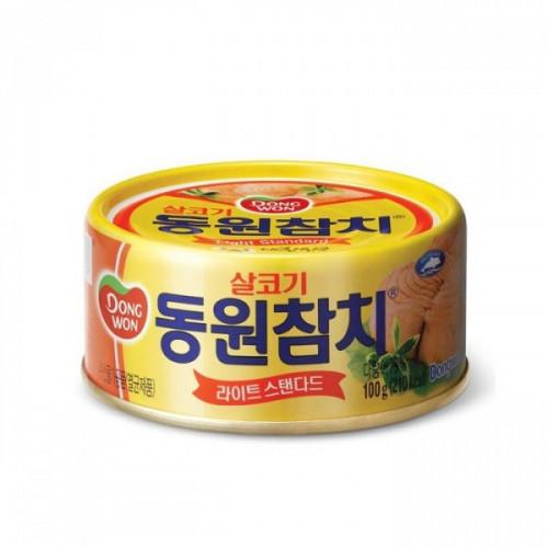 Тунец Dongwon консервированный в масле 150 грамм