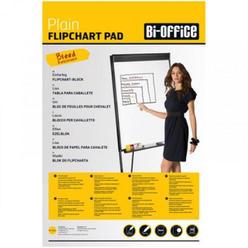 Бумага для флипчартов Bi-Office 65x98 см белая 20 листов 70 г/кв.м