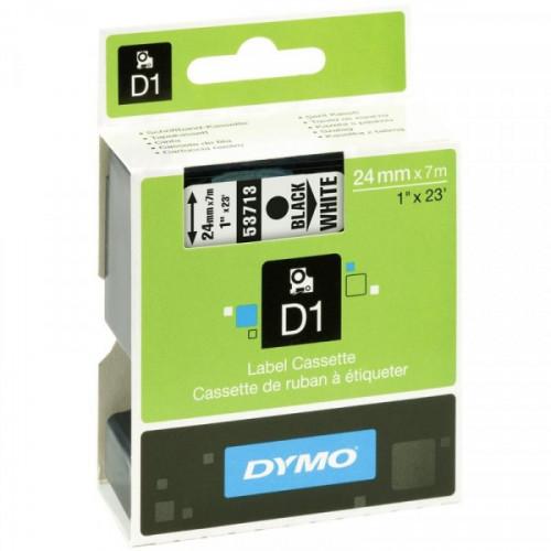 Картридж к принтеру DYMO LM PC II 24 мм х 7 м черный/белый пластик