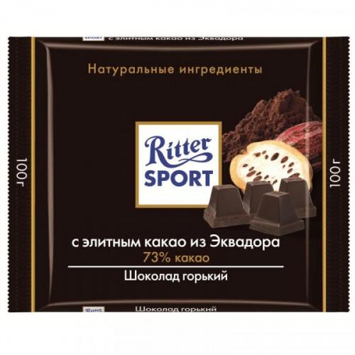 Шоколад Ritter Sport горький с какао 100 грамм