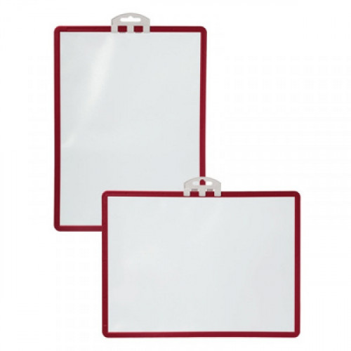 Информационная панель настенная Durable Sherpa А4 красная