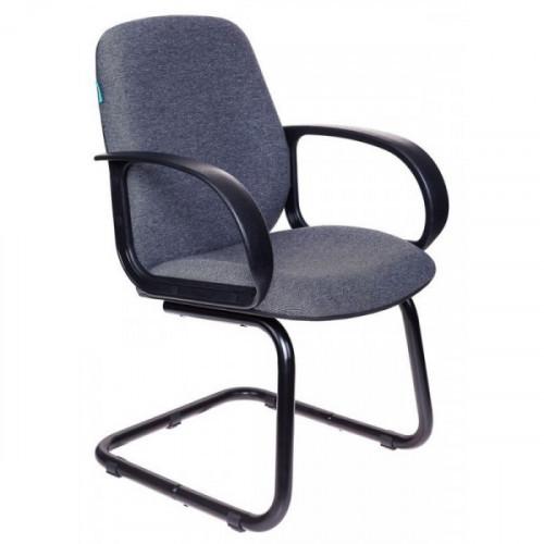 Кресло Бюрократ CH-808-LOW-V/G низкая спинка серый 3C1
