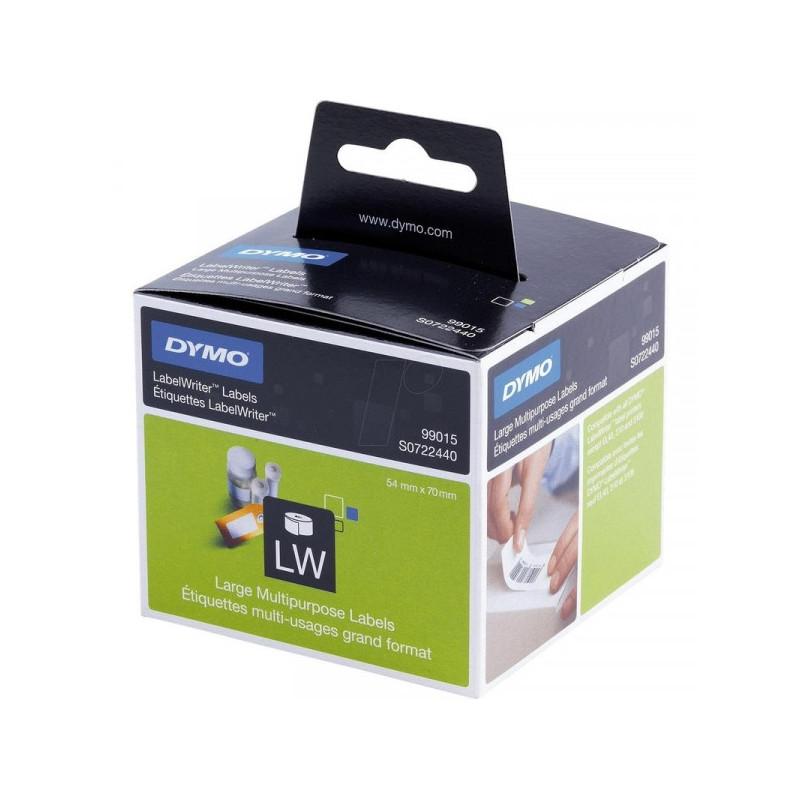 Картридж к принтеру DYMO LW Многофункциональные этикетки 70х54 мм черный шрифт на белом фоне