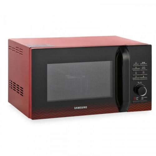 Микроволновая Печь Samsung MG23H3115PR 23 литра 800 Вт черный/красный